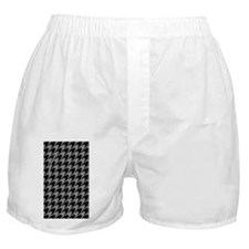 Houndstooth  Grey Boxer Shorts