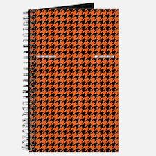 Houndstooth   Orange Journal