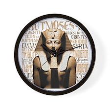 Thutmoses III Wall Clock