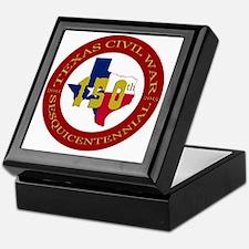 Texas Civil War Logo Keepsake Box