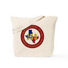 Texas Civil War Logo Tote Bag