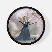 fl_Round Tablecloth 1174_H_F Wall Clock