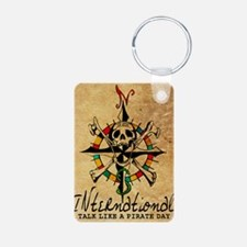 Big Mouth Old Style Map Keychains