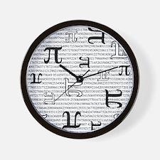 Digits of Pi Wall Clock