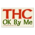 THC OK By Me (bumper sticker)