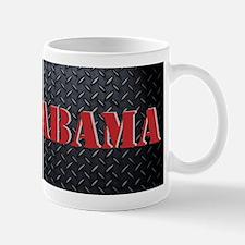 Alabama Diamond Plate Mugs