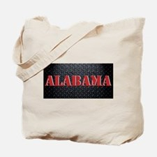 Alabama Diamond Plate Tote Bag