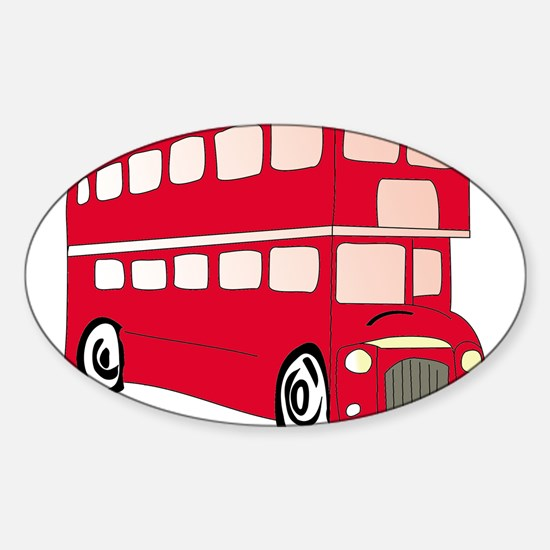 bus Oval Decal