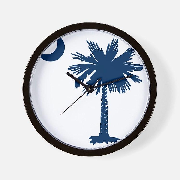 SC Emblem Wall Clock