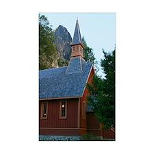 Yosemite Chapel Decal