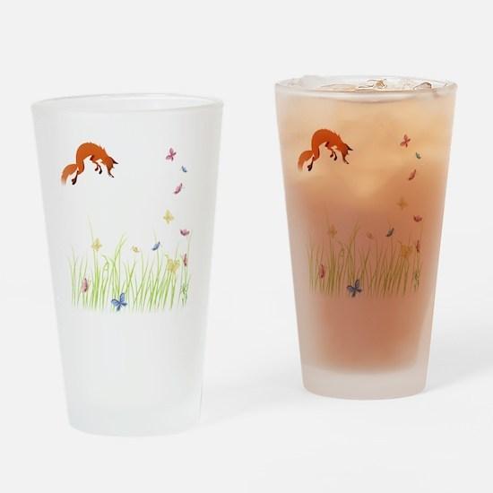 Fox Drinking Glass