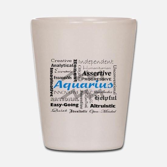 Aquarius Shot Glass