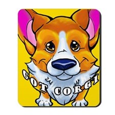 got corgi sable Mousepad