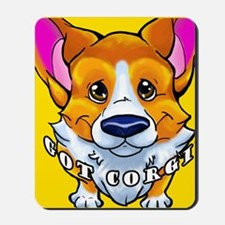got corgi sable Mousepad
