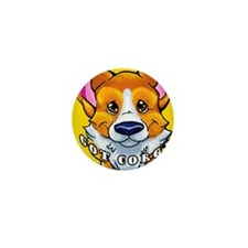 got corgi sable Mini Button