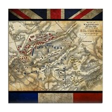 Battle of Waterloo Tile Coaster