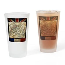 Battle of Waterloo Drinking Glass