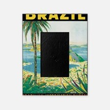 Brazil Travel Poster Picture Frame