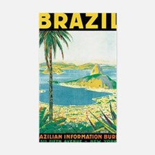 Brazil Travel Poster Decal