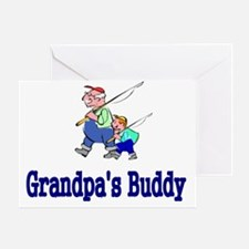 Grandpas Buddy Greeting Card