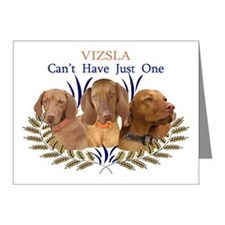 Vizsla Cant Have Just One Gi Note Cards (Pk of 20)