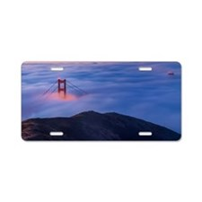 The Golden Gate Bridge San  Aluminum License Plate
