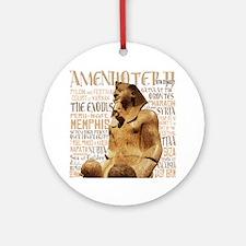 Amenhotep II Round Ornament