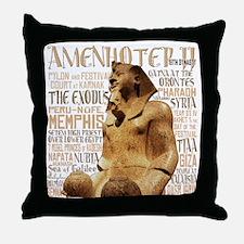 Amenhotep II Throw Pillow