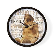 Amenhotep II Wall Clock