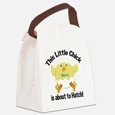Chick about to hatch Pregnancy Sh Canvas Lunch Bag