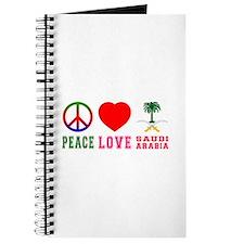 Peace Love Saudi Arabia Journal