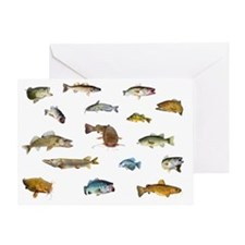 All fish 3 Greeting Card