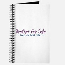 Brother for Sale Journal