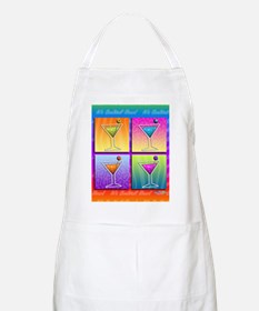 MARTINIS Pop Art Apron
