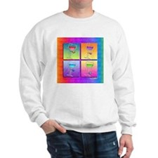 WINE Pop Art Sweatshirt