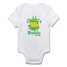 Daddy's Tennis Buddy Infant Bodysuit
