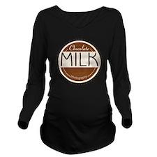 CM Logo Long Sleeve Maternity T-Shirt