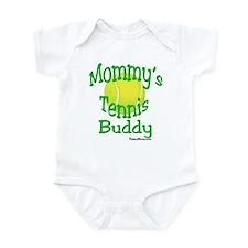 Mommy's Tennis Buddy Infant Bodysuit