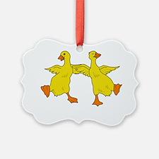 Dancing Ducks Ornament