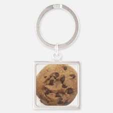 Chocolate Chip Cookie Square Keychain
