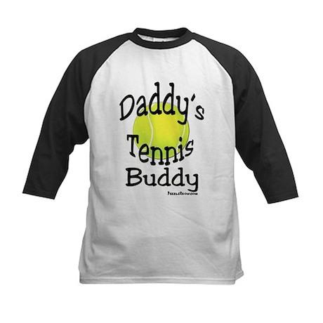 Daddy's Tennis Buddy Kids Baseball Jersey
