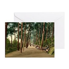 Invalids_walk,_Bournemouth,_Dorset,_ Greeting Card