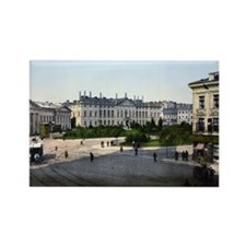 Krasinski_Square_Warsaw Rectangle Magnet