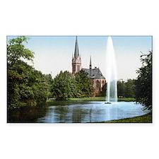 Lutherkirche_Johannapark_Leipz Decal