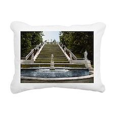 Peterhof_Golden_stair_ca Rectangular Canvas Pillow