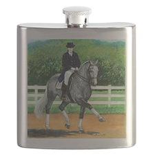 Belgian Warmblood Dressage Horse Flask