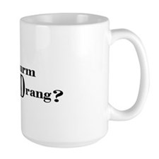 Sturm und Drang (text) Mug