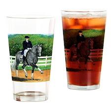 Belgian Warmblood Dressage Horse Drinking Glass