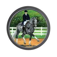Belgian Warmblood Dressage Horse Wall Clock