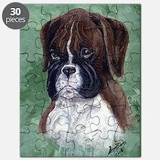Boxer Puppy Dog Puzzle